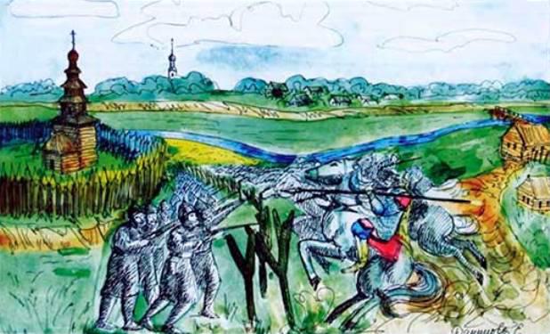 Калязинский бой 1609 г.